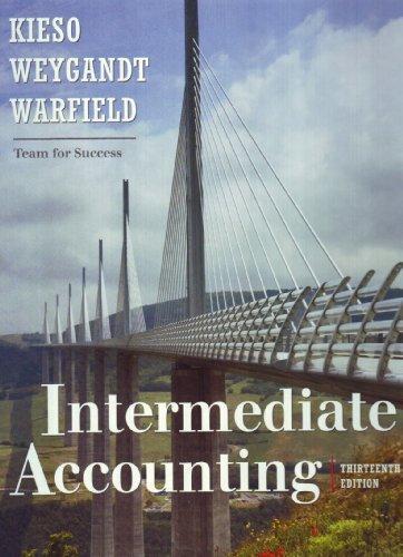 Kieso intermediate accounting chapter 20 solutions
